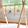 Wooden Baby Gym - elephant
