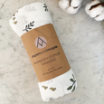 baby swaddle forest