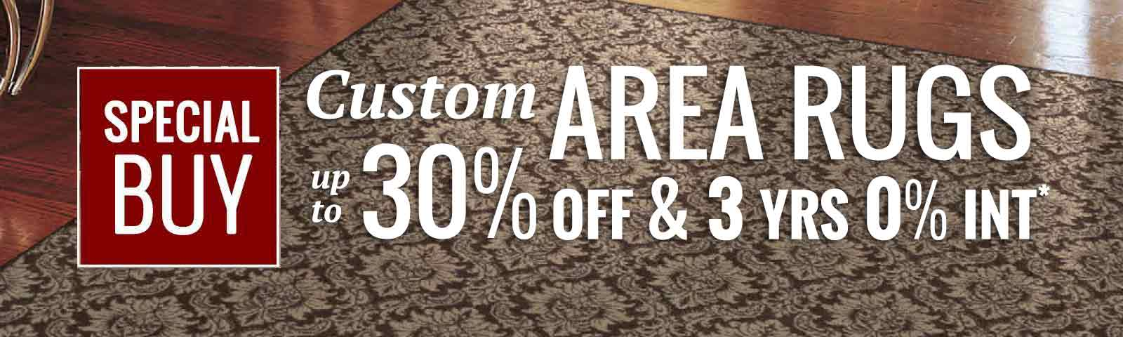 Pittsburgh custom area rug sale
