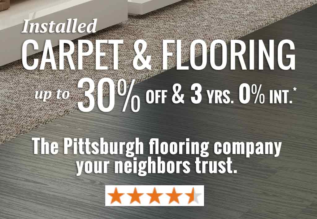 Wexford PA Flooring Sale