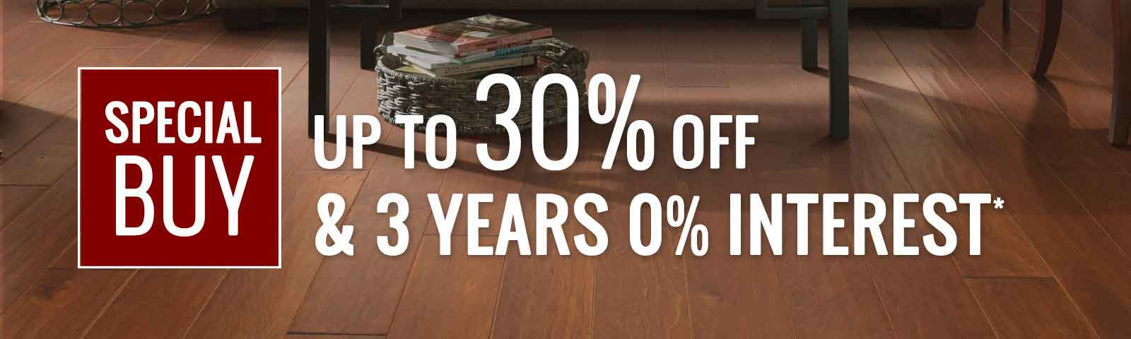 Save on Special Buy Flooring products form Molyneaux Pittsburgh