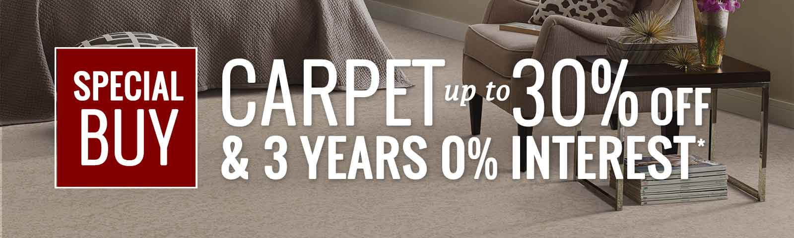 30% Savings on Select Carpet, Pittsburgh
