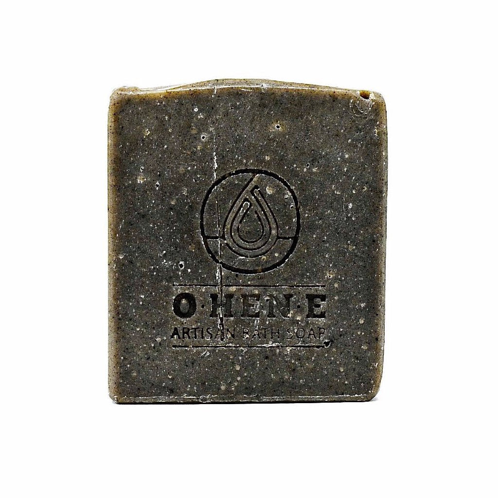 Handmade African black soap made with a 100% plant-based of oils, activated charcoal, aloe and oatmeal. This soap will detoxify your skin surface thereby prevent acne breakouts. This soap also gently exfoliates the skin surface and can be used to shampoo hair.