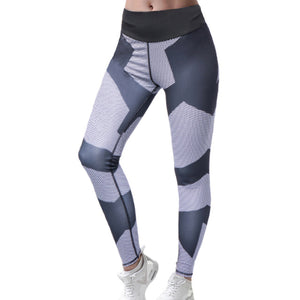 Women Athletic Leggins Pants Sport Jogging Yoga Running Pants Cropped Fitness Lounge