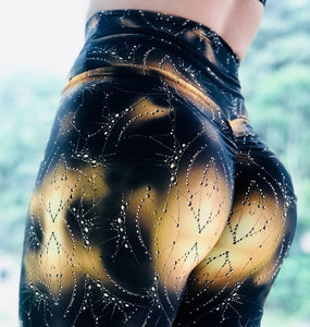 High Waist Girls Leggings Women Fitness Slim Sporting Pants Elastic