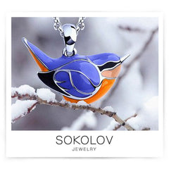 sokolov pendant winter bird