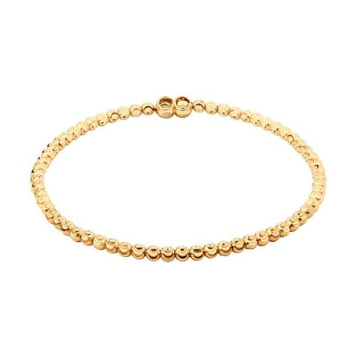 SOKOLOV - Gold Plated Silver Simple Round Bead Bracelet