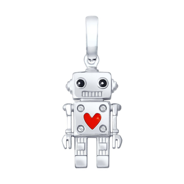 SOKOLOV - Robots Are Cool 925 Silver Pendant