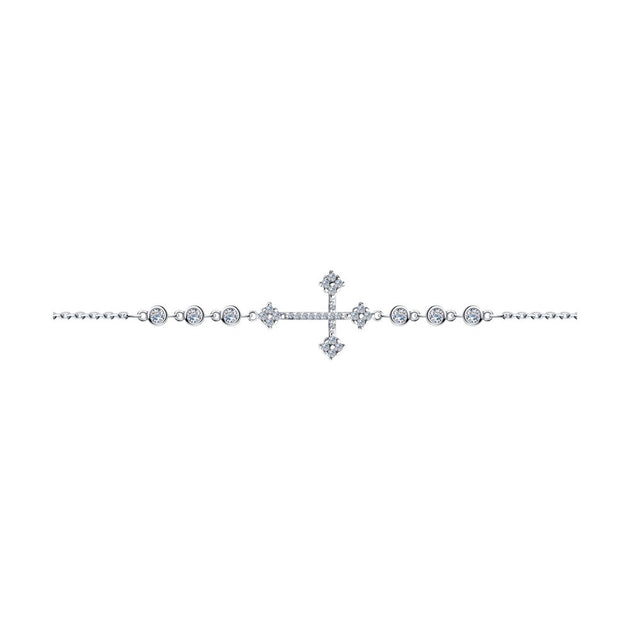 SKLV by SOKOLOV - Silver Cross Bracelet