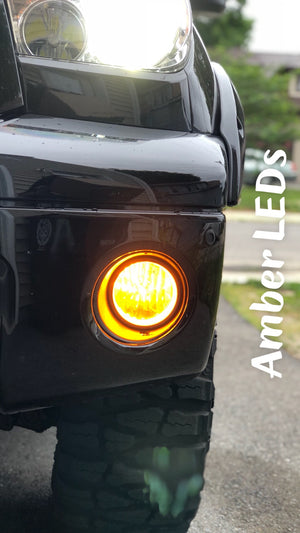 Amber Fog Light LEDs