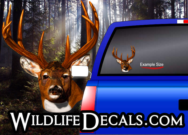 monster buck vinyl decal