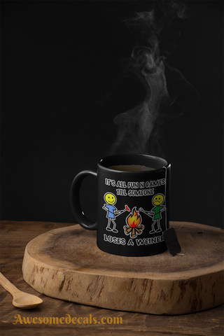 Image of awesome camping coffee mug