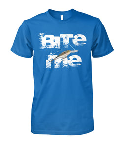 BITE ME Fishing Lure tee shirt - ViralStyle