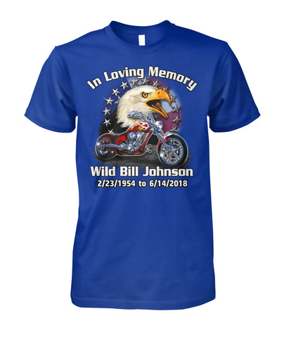 Image of In Loving Memory Custom Motorcycle shirt - ViralStyle