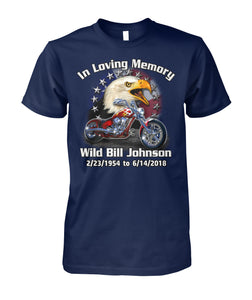 In Loving Memory Custom Motorcycle shirt - ViralStyle