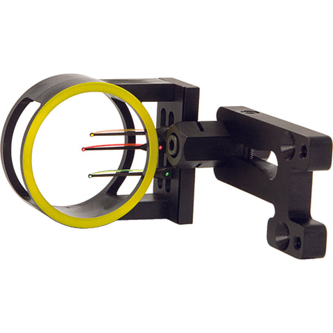 Image of Allen Intruder 3 pin fiber optic bow sight aluminum mount