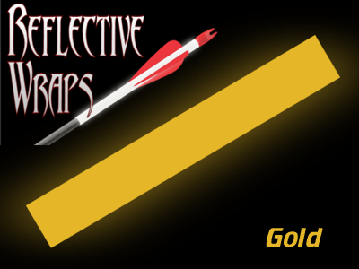 gold reflective arrow wraps