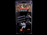 Mossy Oak Inflictor Broadheads are powered by Slick Trick