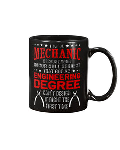 Novelty Coffee Mug for Mechanics BIG 15oz Size