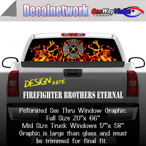 firefighter brothers eternal window graphic