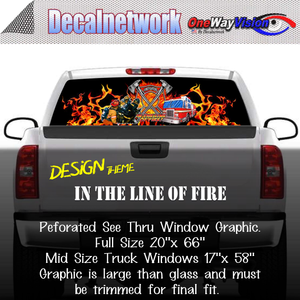 in the line of fire window graphic