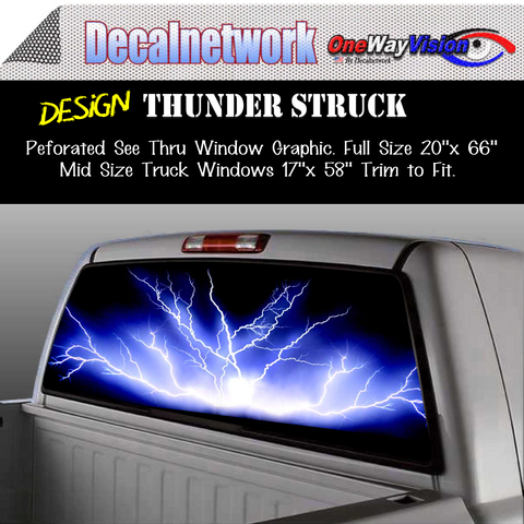 Image of thunder lightning window graphic
