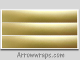 Solid Gold Metallic Arrow wraps