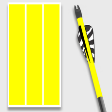 Solid Yellow Arrow wraps