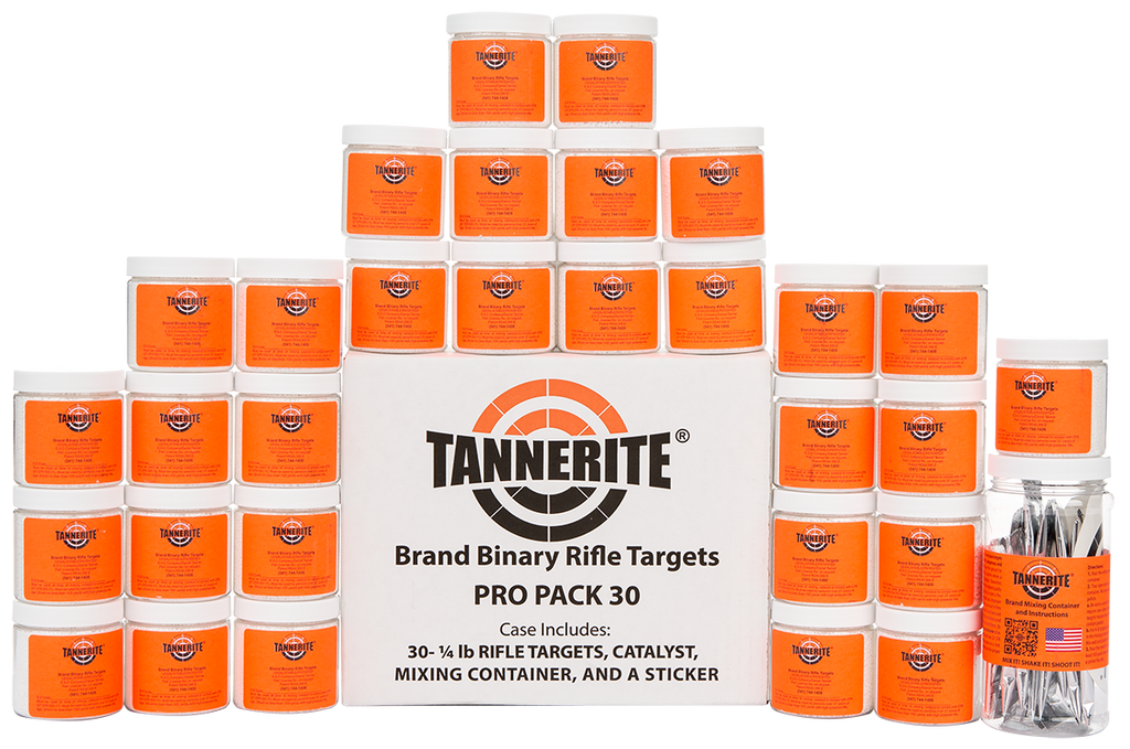 Tannerite Pro Pack 30 1/4-lb targets