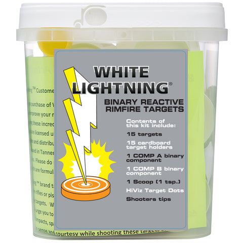 tannerite white lighting 22 rimfire targets