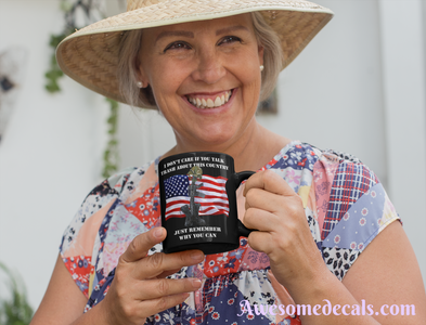 thank a soldier usa patriotic mug