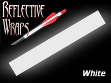 White Reflective Arrow wraps