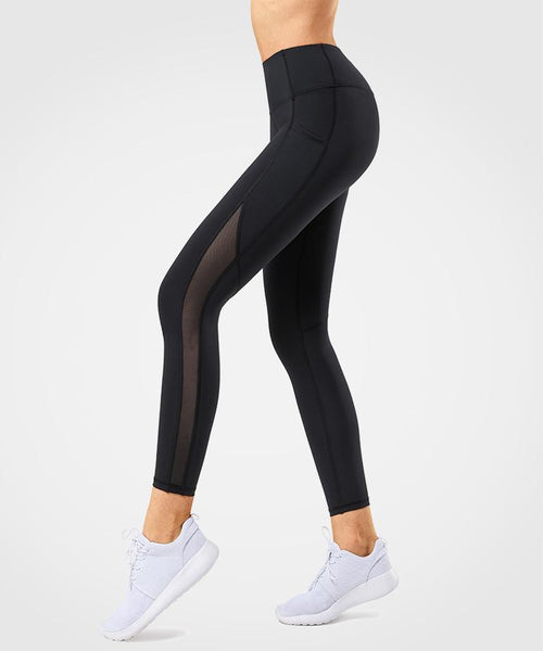 Sculpt Mesh Running| Women's High Support Leggings With Pocket