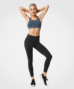 Pull Up With A Zip | Women's High Support Sports Bra