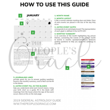 2019 Sidereal Astrology Guide (Printed & Bound)
