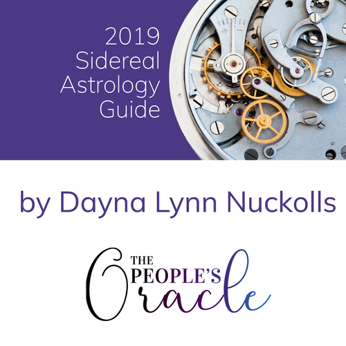 PRE-ORDER - 2019 Sidereal Astrology Guide