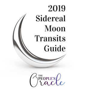 2019 Sidereal Moon Transits iCal + Guide
