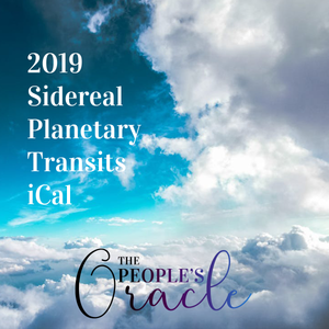 2019 Sidereal Planetary Transits iCal