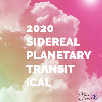 2020 Sidereal Planetary Transits iCal