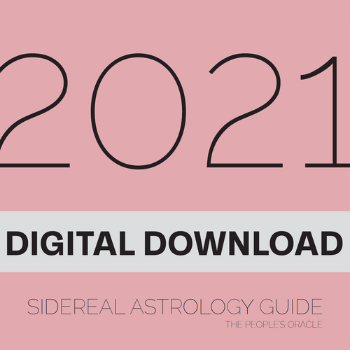 2021 Sidereal Astrology Guide (PDF)