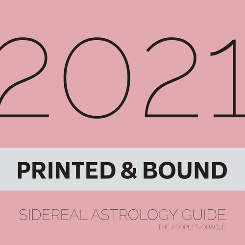 2021 Sidereal Astrology Guide (Printed & Bound)