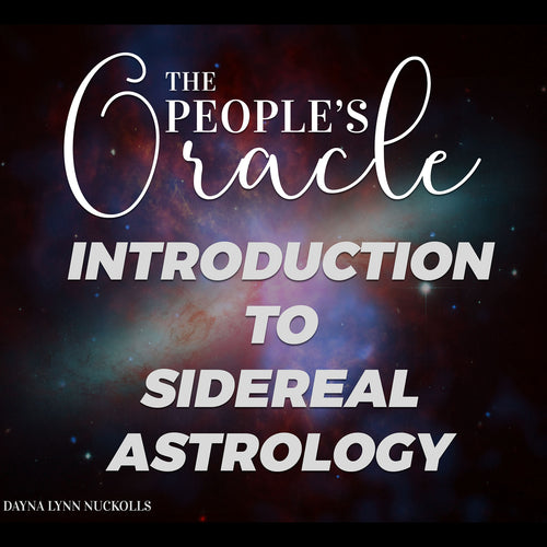 Introduction to Sidereal Astrology (Webinar)