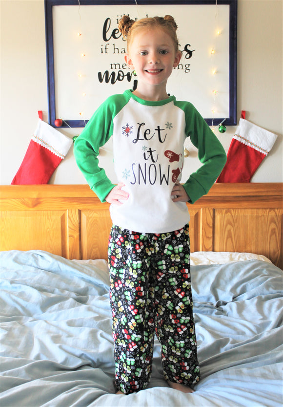 Happy Holiday PJ Pattern