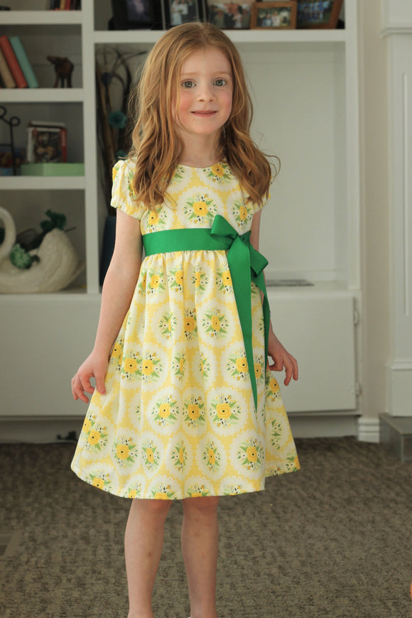 Holly & Ivy Party Dress PDF Pattern