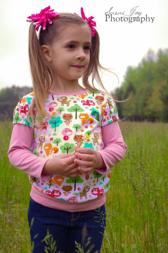 Tinley Tee for Girls PDF Pattern