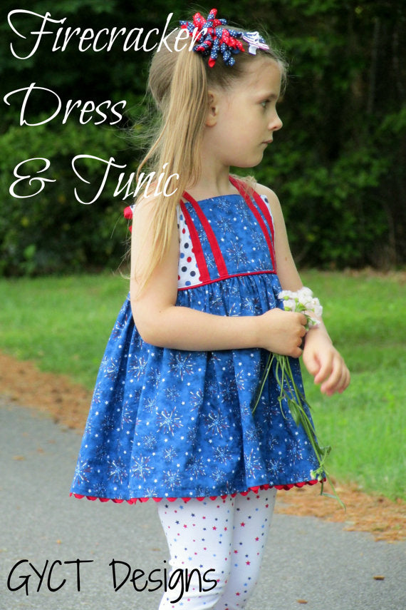 Firecracker Dress & Tunic PDF Pattern