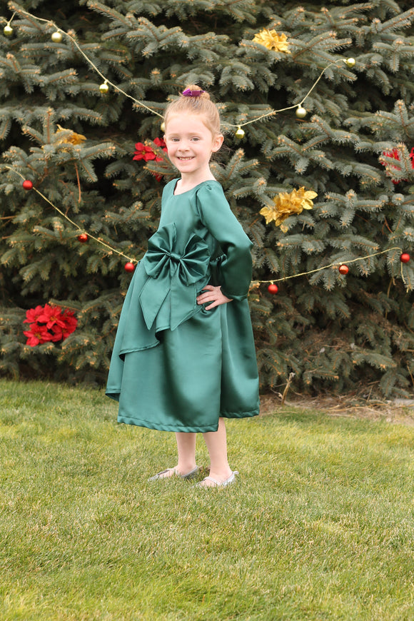 Poinsettia Party Dress PDF Pattern