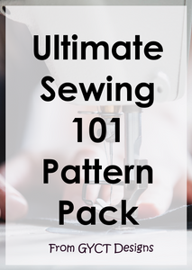 Sewing Basics 101 Pattern Pack