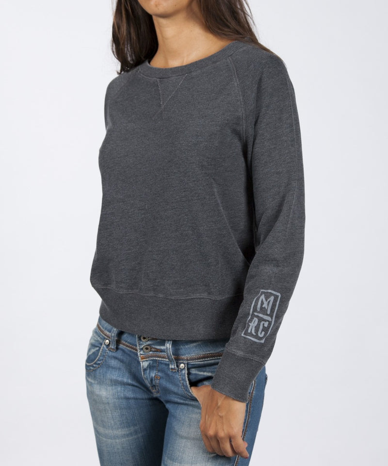 Women Edward  Sweatshirt - Black