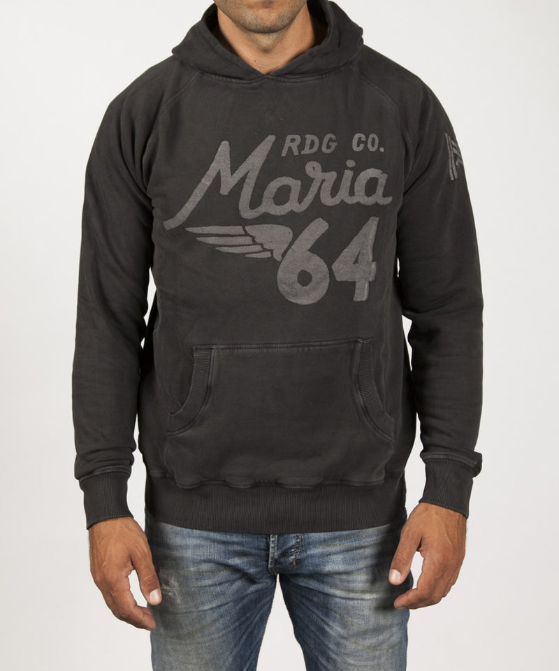 Men Dandy Hoodie Sweatshirt - Black